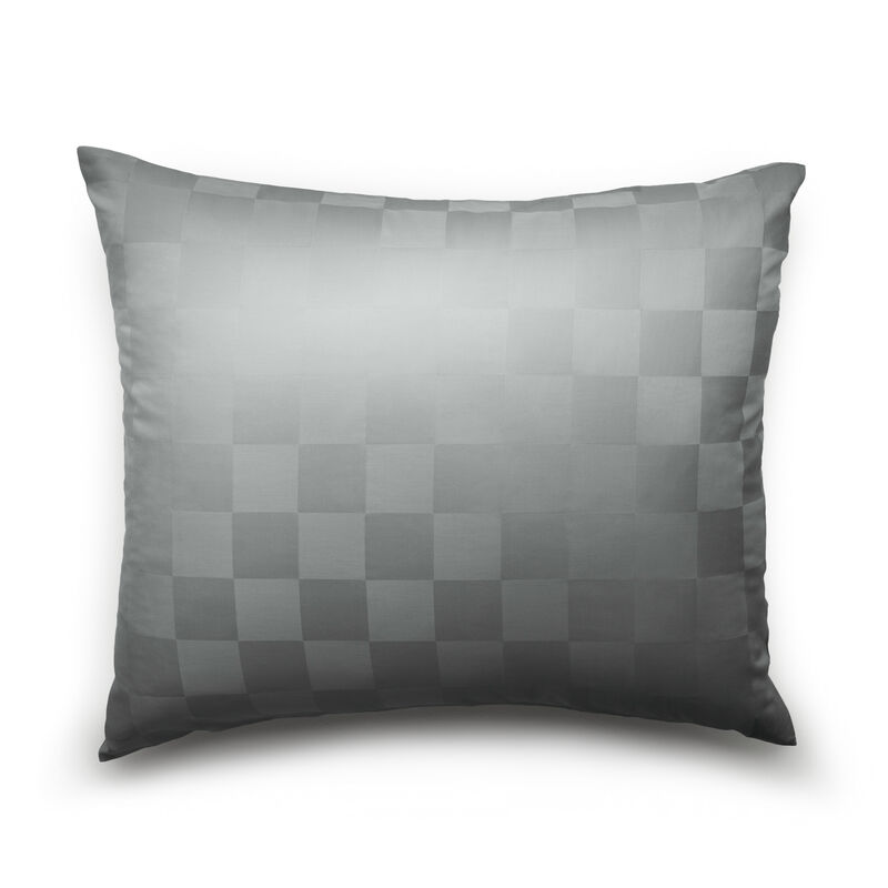 Satin Check Pillow Case image number 0