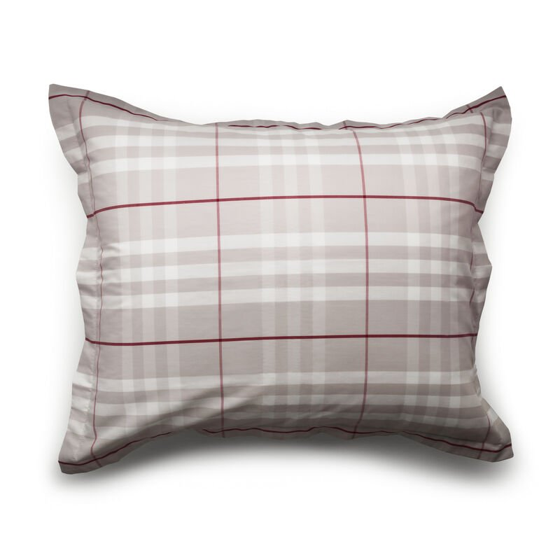 Modern Check Pillow Case image number 0