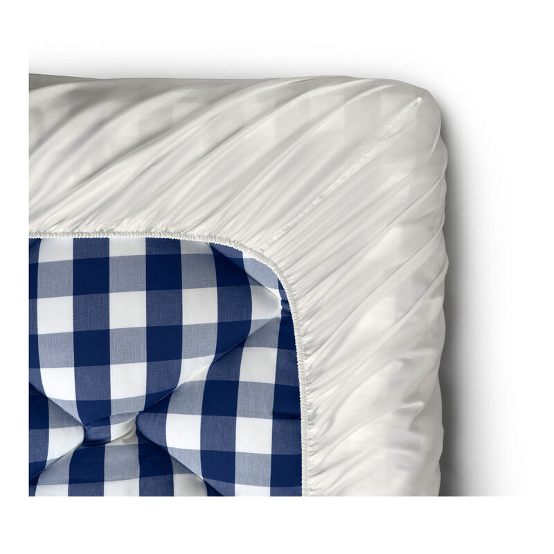 Satin Pure Fitted Sheet, 30 cm image number 0