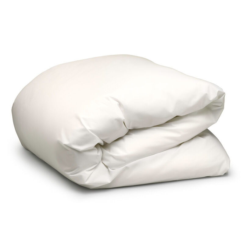 Pure White Down Quilt Cover image number 0