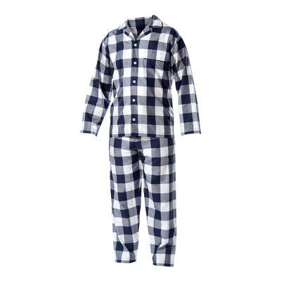 Blue-Check Pajamas
