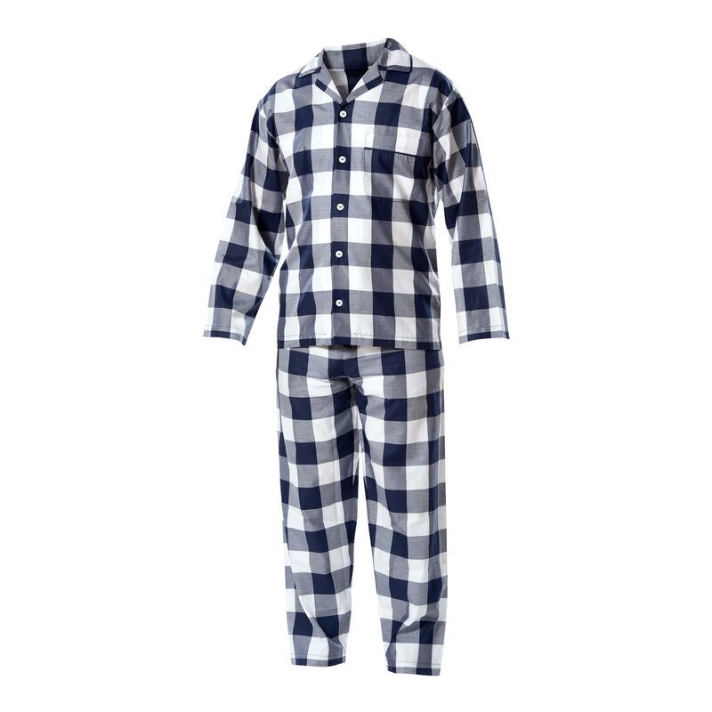 Blue-Check Pajamas image number 0